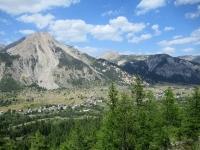 Bel panorama sulla Val de la Clarée