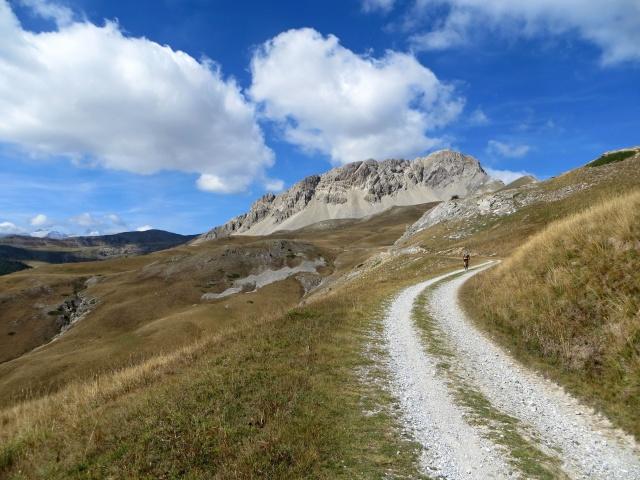 In direzione del Col de Granon attorno alla Roche Gauthier, al Rocher du Loup e alla Gardiole