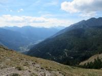 La Valle della Clarée dall'alpeggio di Le Drouvet