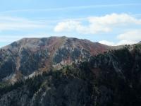 Incredibili colori dei rilievi che circondano il Col de Granon