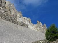 Roche Gauthier - Caratteristiche formazioni rocciose