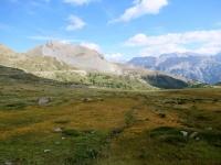 Panorama salendo al Col de Granon