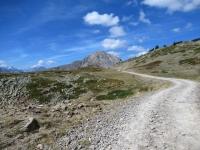 In direzione della Porte de Cristol - Sullo sfondo Le Grand Aréa (2.869m)