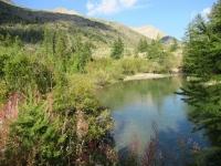 Bel laghetto nella Valle della Clarée