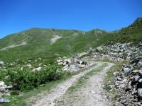 Salita all'alpeggio di Les Ors alto