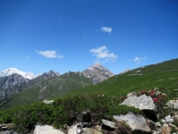 Salita all'alpeggio di Les Ors alto - Panorama