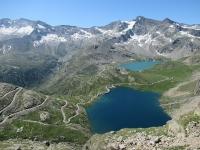 Lago Agnel e Lago Serrù