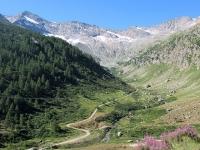 Valle dell'Orco - Panorama sull'Alpe Mandetta