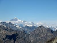 Il Monte Bianco visto dal Col Leynir