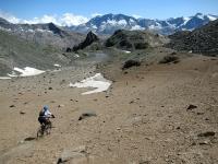 Free Ride fuoritraccia nel vallone ghiaioso del Leynir!