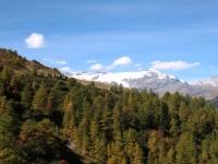 Sterrato in direzione Col de Sollieres - panorama