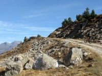 Sterrato in direzione Col de Sollieres