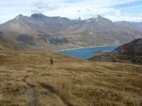 Vista del Lago del Moncenisio dal vallone