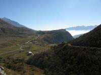 Piana sottostante la diga del Moncenisio