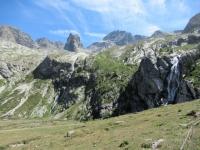 Cascate in prossimità del Rifugio Scarfiotti