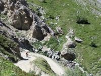 Salita al Colle del Sommeiller - In direzione del Pian dei Morti