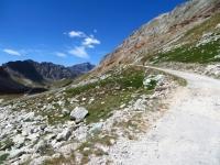 Salita al Colle del Sommeiller - In direzione del Pian di Patarè