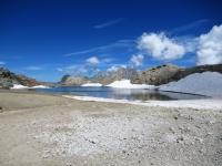 Colle del Sommeiller  - Lago glaciale