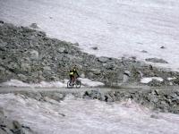 Discesa dal Colle del Sommeiller - Attraversamento del Pian di Patarè