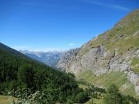Il vallone che sale da Rochemolles - Panorama