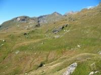 Traverso ciclabile dal rifugio Arp all'Alpe palasina