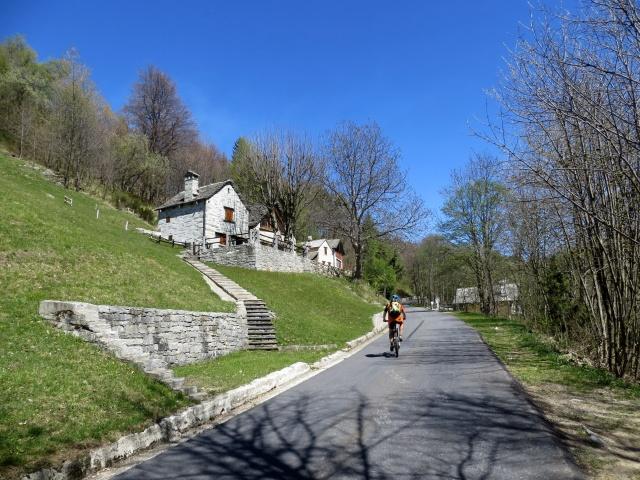 Salita all'Alpe Blitz