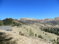 Gli alpeggi nel territorio circostante la Colma di Craveggia
