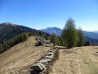 L'Oratorio di San Rocco ed i circostanti nuclei rurali - panorama