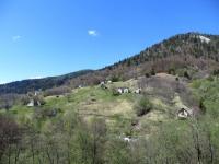 Nei pressi dell'Alpe Blitz