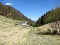 Tratturo nei pressi dell'Alpe Blitz in direzione dell'Alpe Fontana Verde