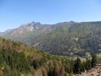 Panorama sui rilievi vigezzini