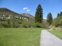 Lungo la ciclabile della Val Vigezzo, in direzione di Malesco