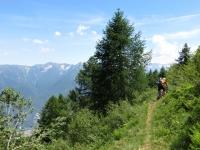 Traverso dall'Alpe Casalavera per raggiungere Corte dei Raffi