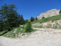 Salita a Fort de Lenlon-Col du Granon