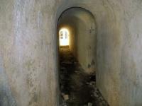 Fort de Olive, passaggi interni delle fortificazioni