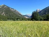 La Draye, panorama sulla Vallée de La Clarée