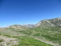 Discesa dal Col du Granon, Col des Barteaux
