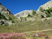 Grange Quagliet - Inizio del tratto difficoltoso della militare di Val Morino che sale al Piano dei Morti