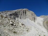 Panorama salendo al Colle dello Chaberton - Pointe des Trois Sciés