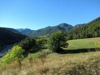 In direzione di Fenils - Panorama