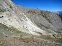 Colle dello Chaberton - La parte finale del sentiero che sale dal Pian dei Morti
