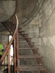 I resti del Forte dello Chaberton - Le scale interne alle torri