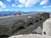 I resti del Forte dello Chaberton