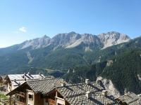 Salita a Gleise, panoramica su Sommet du Charra, Aiguille d'Arbour e Punta Clotesse