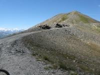 Salita lungo le pendici della Roche de l'Aigle