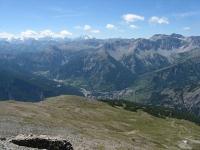 Panoramica dalla sommità del Monte Jafferau