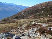 Bel trail in direzione di Unnerbodme