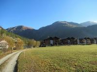 Lungo la ciclabile che costeggia il Rodano - Oberwald