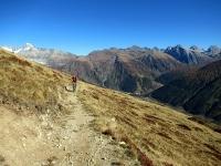 Il sentiero del Gämschfax