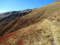 Il sentiero del Gämschfax che attraversa la Obertal